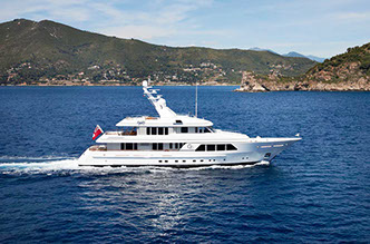 yacht GO chartered via Morley Yachts