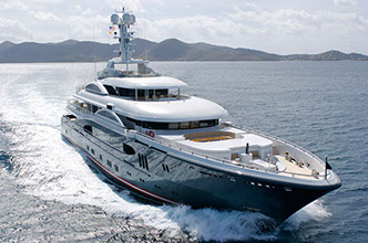 Yacht KISMET was sold via Morley Yachts representing the buyer, now renamed GLOBAL