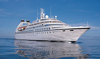 whole ship charter of cruise ship SEABOUR SPIRIT via Morley Yachts