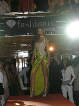 Fashiontv ftv party on yacht DELPHINE