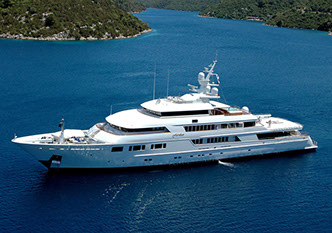 Yacht FLORIDIAN chartered via Morley Yachts