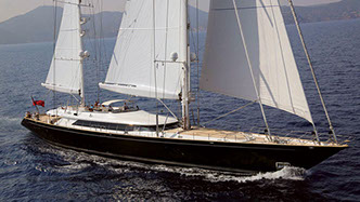 Yacht PARSIFAL III chartered via Morley Yachts