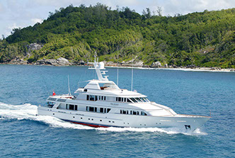 yacht TELEOST chartered via Morley Yachts